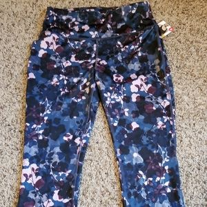 Crop workout pants